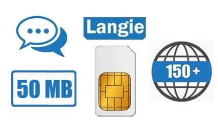 LANGIE Global SIM card
